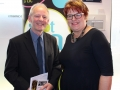 L-to-R: Andy King, ART (Aston Reinvestment Trust); Sarah Crawley, iSE