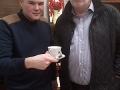 Luke McLean from Taste the Sound with Bob Candlin of Kingstanding Regeneartion Trust