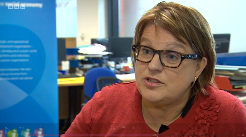 Sarah Crawley, chief exec of iSE, interviewed for BBC Midlands Today
