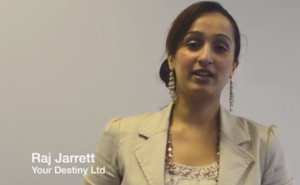 Raj Jarrett - with crowd funding backing she plans to break the silence of domestic violence