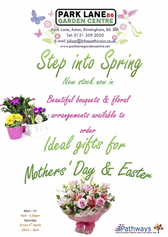 Step into spring mothers day  Easter