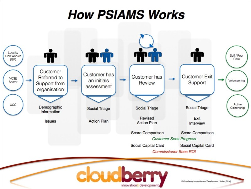 How the PSIAMS tool works