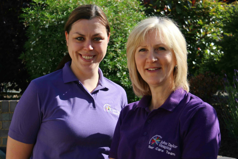 Faye Collins (left) and Louise Tipson