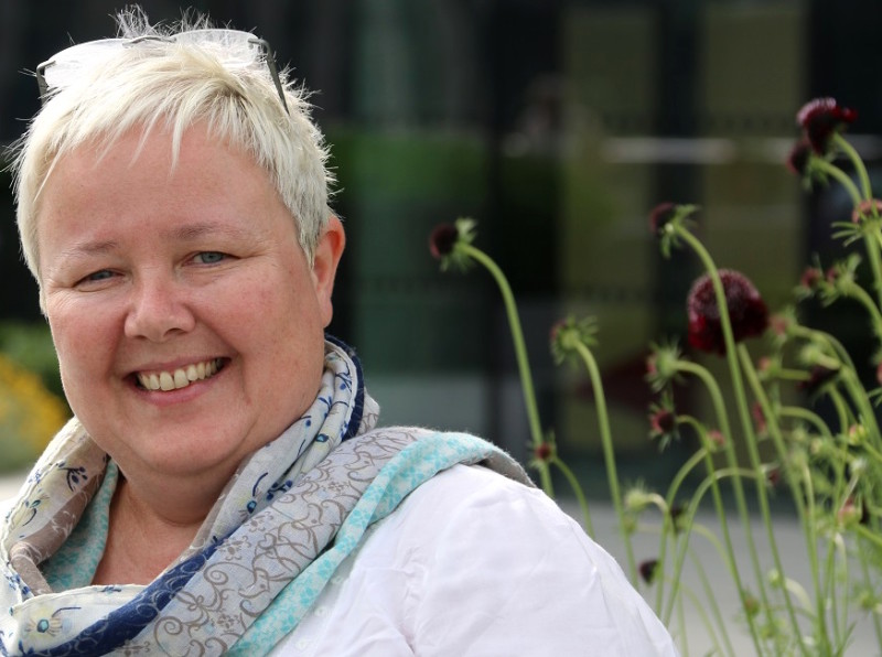 Kate Phipps: she leaves Birmingham to take up the post of CEO at Ty Hafan Children's Hospice in South Wales