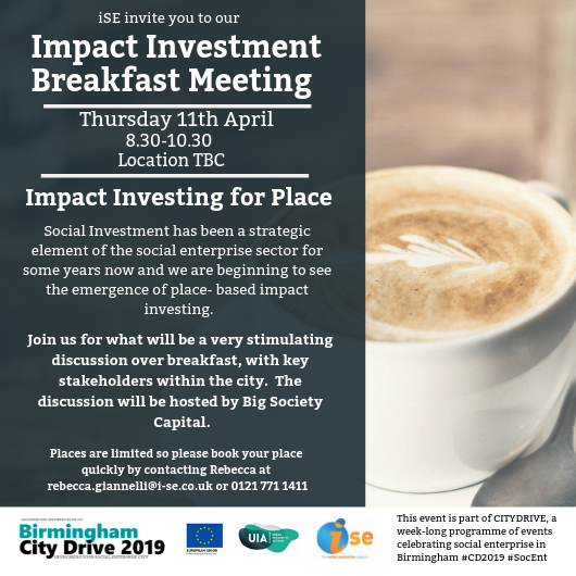 Bssec City Drive 2019 Impact Investing For Place 11th April